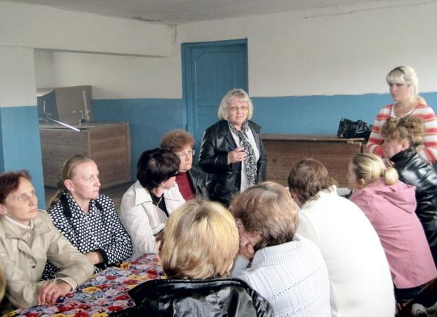 На консультации в подосиновском районе