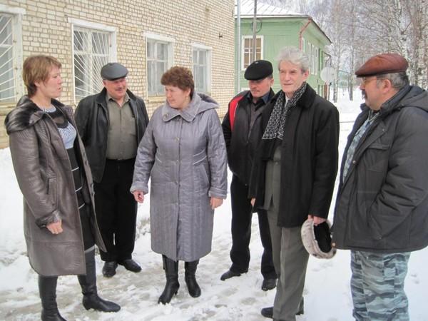Перед совещанием в афанасьево