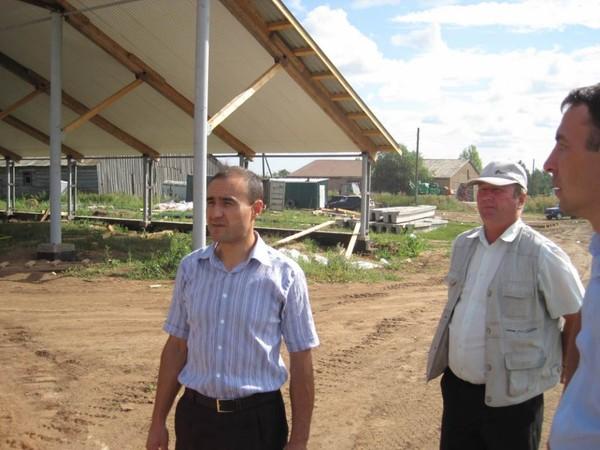 На строительстве нового комплекса апк союз