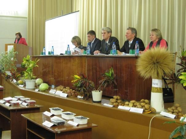 На областном совещании растениеводов