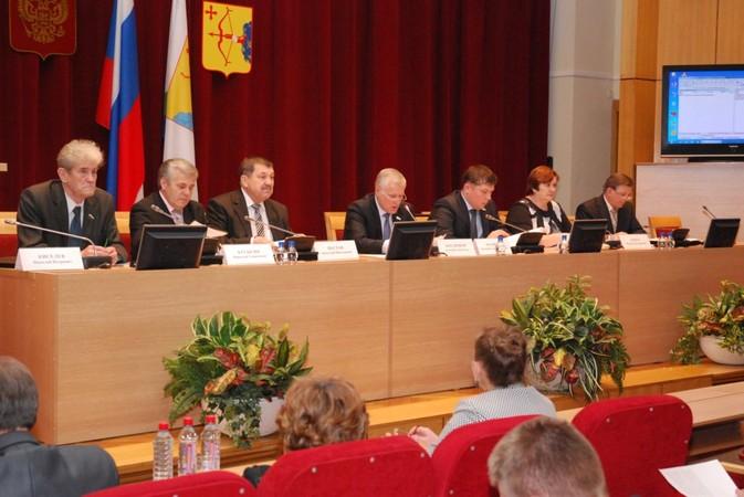 Президиум расширенного заседания коллегии