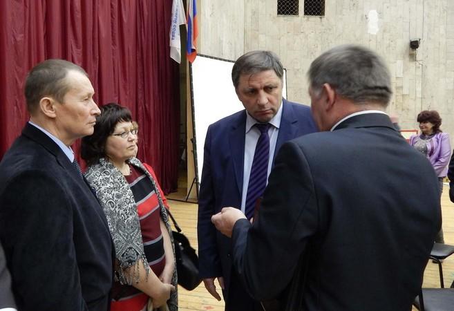 Кировчане общаются с а.в.петриковым