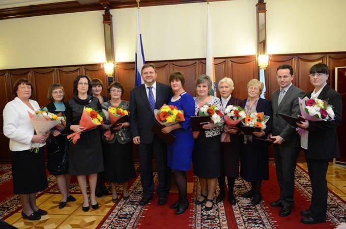 Лауреаты областной премии в области сельского хозяйства