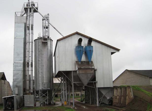 Зерносушильный комплекс в ижевском