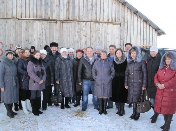 Участники консультирования в оричевском хозяйстве