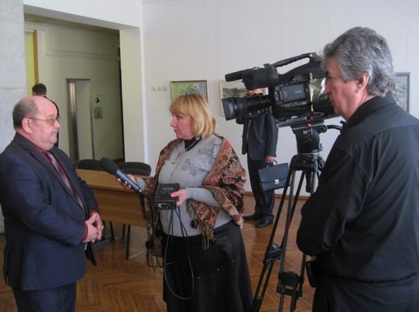 На министерской коллегии снимали фильм о «Клеверах Нечерноземья»